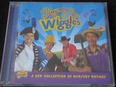 The Wiggles - Sing A Song Of Wiggles A New Collection Of Nursery Rhymes NEW CD