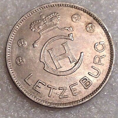 Luxembourg Charlotte - 1 Franc 1939 Copper-Nickel