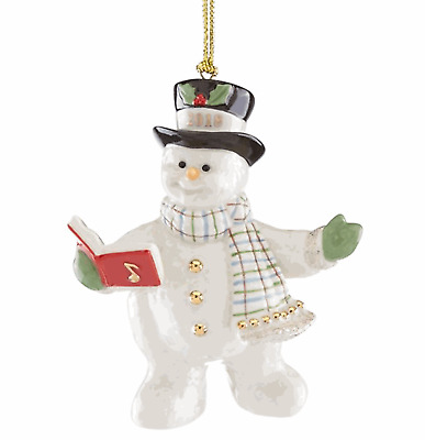 Lenox 2018 Annual Snowy Song Snowman Ornament