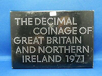 The Decimal Coinage of Great Britain & Northern Ireland 1971