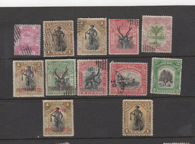 A very nice old mixed North Borneo group of issues