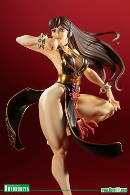 KotoBukiya STREET FIGHTER CHUN-LI BATTLE COSTUME- BISHOUJO STATUE NEW  IN STOCK