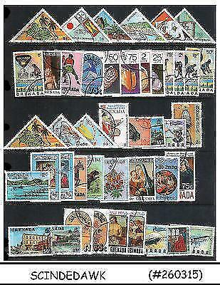 Grenada - Mini Lot Of Stamps Mostly Topical - 36V - Used