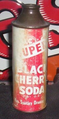 A Very Rare But Beat Up CC Black Cherry Soda 9oz Cone Top Can