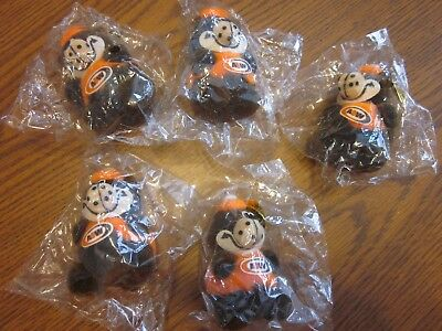 5 Vintage A&w Soda Root Beer Rooty Bear Ornaments Sealed L@@k *free Shipping*