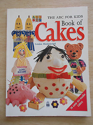 The ABC for Kids Book of Cakes~Louise Hammond~16 TV Character Cakes & Recipes~PB