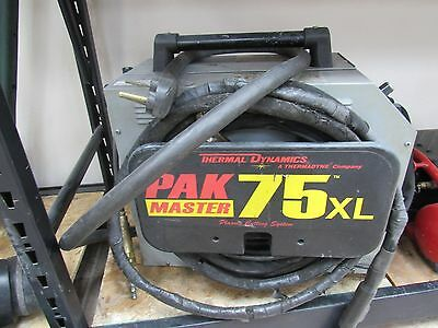 """Thermal Dynamics Pak 75xl plasma cutter with manual cuts up to 3/4 """""""
