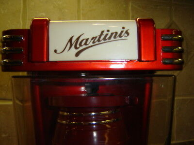 50's Style Retro Deco Martini Cocktail Shaker Automatic Electric Holy Grail !