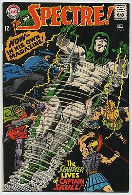 DC Comic Book THE SPECTRE #1, Art by Murphy Anderson, Fine+, 1967