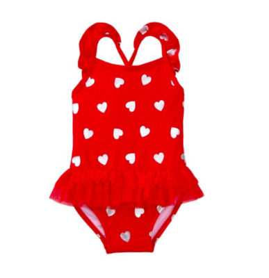 *nwt* Gymboree Little Girl Size 2T 3T 4T 5T Red Heart Sweetheart 1Pc Swimsuit