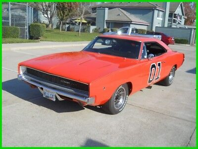 """1968 Dodge Charger Dukes of Hazzard """"General Lee"""" Restored 1968 Dodge Charger RT General Lee Tribute 440/Auto PS PDB 69 70"""