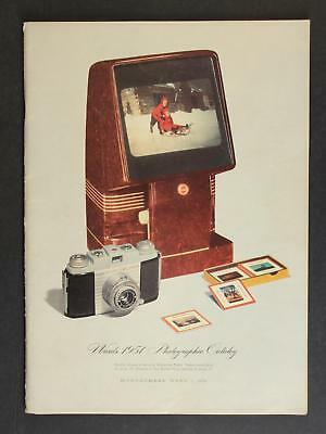 1951 MONTGOMERY WARD PHOTOGRAPHY CATALOG~102 Pages
