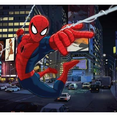 SPIDERMAN Panoramique Poster XXL 276x254 cm + support intisse + colle incluse ro