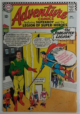 ADVENTURE COMICS #351 - Silver Age - DC - December 1966 - 1st app White Witch
