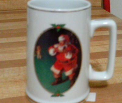 Santa mugs  Coca-Cola set of 4 different