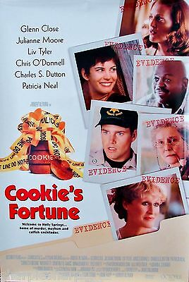 """2000 COOKIE'S FORTUNE Movie POSTER 27x40"""" Motion Picture Liv Tyler Glenn Close"""