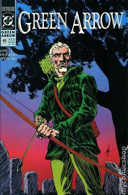 Green Arrow (1st Series) #45 1991 FN Stock Image