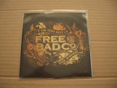 Paul Rodgers - The Very Best Of Free And Bad Company - Promo Cd Album - Queen