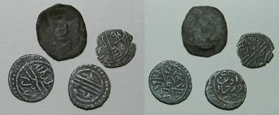 4 X Old Islamic Coins - For Identification