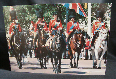 Royal Butler's Christmas Card Signed Queen Elizabeth & Prince Philip 1986