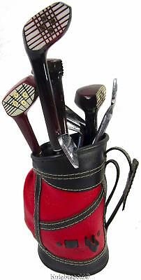 Bar Utensil Set Golf Cart Bag Clubs Vintage 60's Japan 8 piece