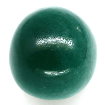 8.99 Ct Natural! Green Chalcedony Oval Cabochon Madagascar Delightful