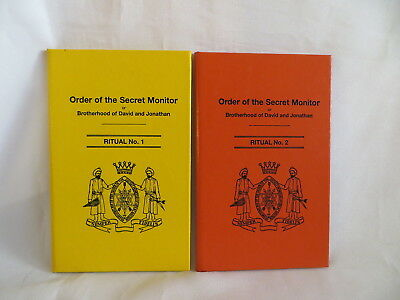 2002 Order Of The Secret Montor Rituals No 1 And 2 Masonic Books (110)