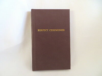 1993 The Perfect Ceremonies Royal Arch Ritual Masonic Book  (19)