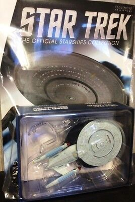 Star Trek U.S.S Enterprise NCC-1701-C Ship Bonus Edition #7 Eaglemoss + Magazin