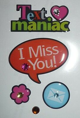 Text maniac  I Miss You Design Stickers for Apple iPhone/iPad/iPod & Phone Decal