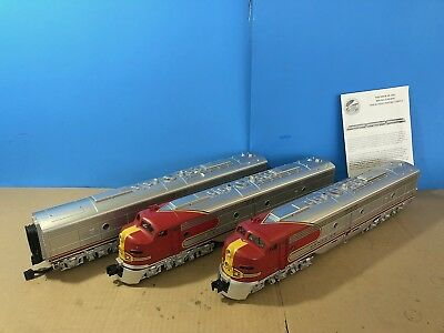 Mth Premier 20-2234-1 Santa Fe E8 Aba Diesel Set. Proto Sound 2.. New In Box