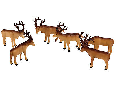 Lionel Trains Polar Express Caribou Animal Pack O Gauge