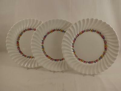"""(3) Royal Doulton Evesham 10 5/8"""" Dinner Plates~Mint Condition!"""