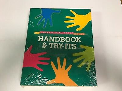 New Girl Scouts of America Brownie Handbook Try Its Book Combo Sealed