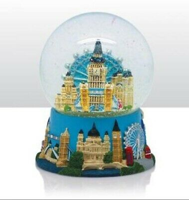 London große Schneekugel Big Ben Eye,Guards,England Snowglobe