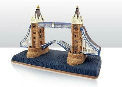 London Tower Bridge Poly Modell 16,5 cm ,Great Britain Souvenir,Neu