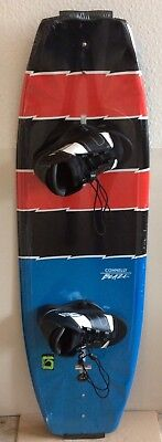 Neu TOP Connelly 140 V Button Wakeboard SET mit O Brien Bindung Clutch,Molded In
