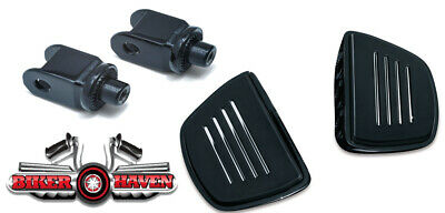 Kuryakyn Premium Black Front Mini Floorboards Honda 750 Shadow Aero 2000-2018