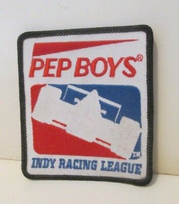 Pep Boys Auto Supply Stores Manny Moe & Jack Indy Racing League Cloth Patch