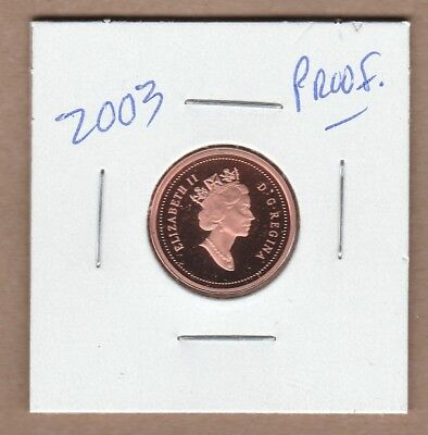 1967-2017 Canadian Proof One Cent Penny from Proof Set Pure Silver Non Taxable.