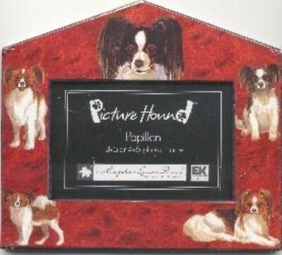 Dog Breed Frame PAPILLON Cute Picture Frame CLEARANCE SALE
