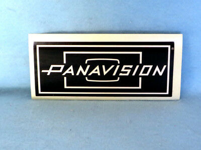 Panavision Original Wide Logo Sticker Decal. Excellent! Unused!