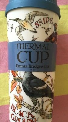 Emma Bridgewater Thermal Cup Mug Travel - Game Birds - New For 2018