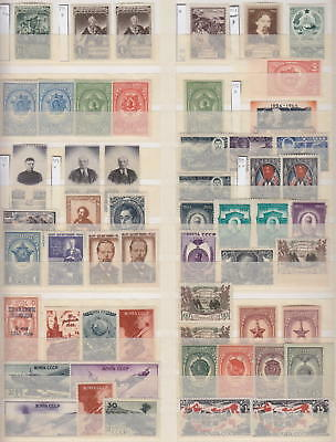 Russia - Page From Dealers Stock Old Stamps 1941-1946 - *mh*/**mnh**