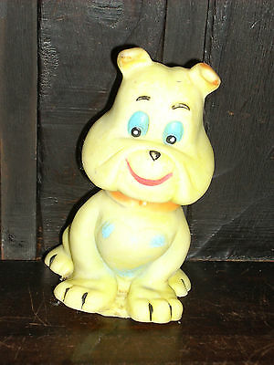 Vintage Argentina Tom & Jerry Spike Dog Squeeze Rubber Hanna Barbera Figure Toy
