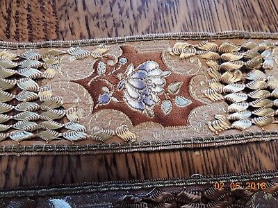 3 Lengths of Different Clothing Trim / Edges - Beautiful - See Pictures & Length