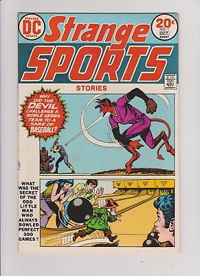 Strange Sports Stories #1 D.C. Comics 1973  Near Mint - Condition