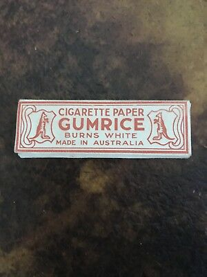 Gumrice Australian Cigarette Papers