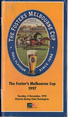 1997 Melbourne Cup Racebook - Might And Power