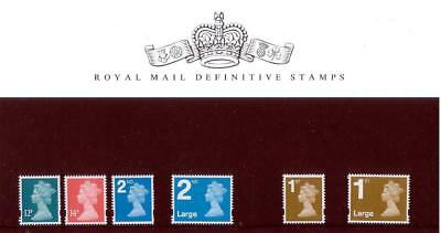 GB 2006 DEFINITIVE MACHIN PRESENTATION PACK No.74 12p to 1stL MINT STAMP SET #74